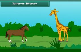 Comparison: Taller or Shorter