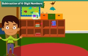 Addition and Subtraction: Subtraction of 4- Digit Numbers