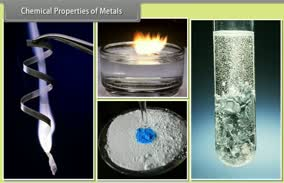 Metals and Non Metals: Chemical Properties of Metals