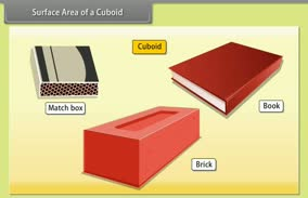 Surface Area: Surface Area of a Cuboid