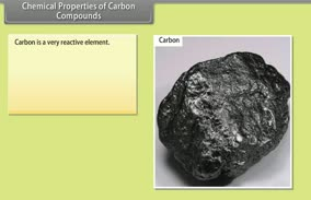 Carbon and its components: Chemical Properties of Carbon Compounds