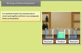 Chemical Reactions and Equations: Writing a Chemical Equation