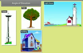 Some Applications of Trigonometry: Angle of Elevation