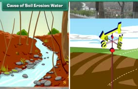 Soil Erosion and Conservation: Cause of Soil Erosion: Water