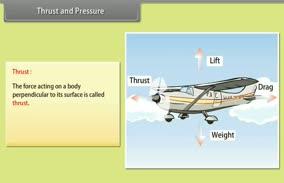 Gravitation: Thrust and Pressure