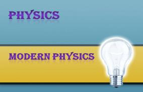 Modern Physics: Assessment