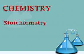 Stoichiometry: Assessment