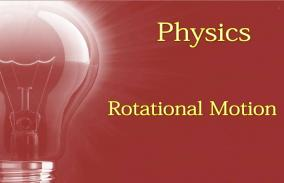 Rotational Motion: Assessment
