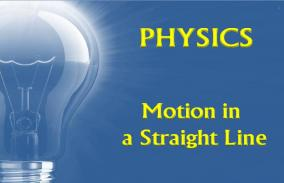 Motion In A Straight Line: Assessment