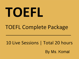 TOEFL Complete Package