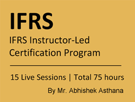 IFRS Instructor-Led Certification Program