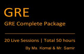 GRE Complete Package