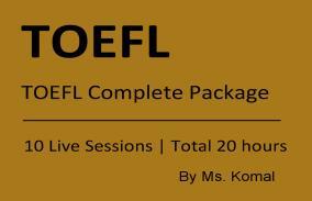 TOEFL Complete Package