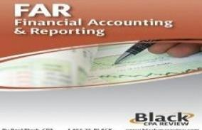 Black CPA Review : Financial Accounting and Reporting