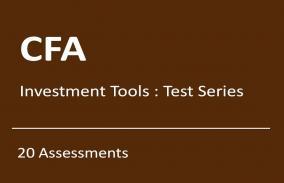 CFA Investment Tools: Test Series