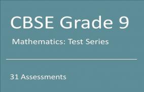 CBSE IX Mathematics: Test Series