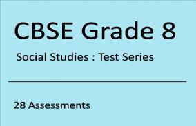 CBSE VIII Social Studies: Test Series