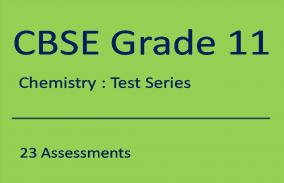 CBSE XI Chemistry: Test Series